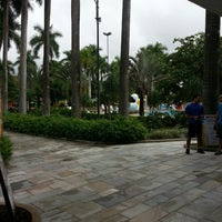 Photo taken at Praia Clube by Allan R. on 3/21/2013