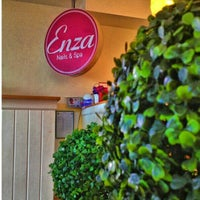 Photo taken at Enza Nails & Spa by Donna M. on 10/26/2013