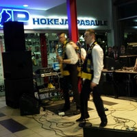 Photo taken at Vidzemes Ledus Halle by Dace P. on 3/25/2014