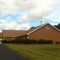 Photo taken at Trinity Holiness Church by Derek M. on 10/17/2013