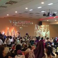 Photo taken at Yıldırım Düğün Salonu by Kubilay Y. on 8/20/2016