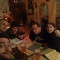 Photo taken at Sante's Pub by Matteo D. on 3/15/2014