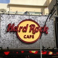 Photo taken at Hard Rock Cafe Hollywood on Hollywood Blvd by Glitterati Tours on 3/7/2013
