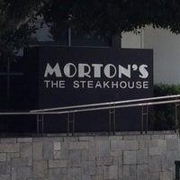 Photo taken at Morton's the Steakhouse by Glitterati Tours on 4/1/2013