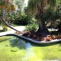 Photo taken at Miami Beach Botanical Garden by Genre L. on 6/5/2014