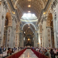 Photo taken at St. Peter's Basilica by Gustavo B. on 4/18/2013