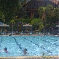 Photo taken at Sagara swimming pool by Andreas A. on 5/1/2014