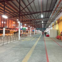 Photo taken at Woodlands Temporary Bus Interchange by Alan N. on 3/11/2016