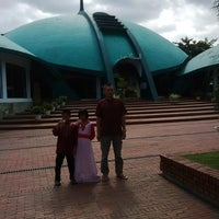 Photo taken at Masjid Jami' Al-Baitul Amien Jember by Wahyu Eka D. on 7/28/2014