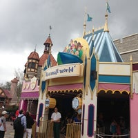 Photo taken at it's a small world by North Star C. on 2/24/2013
