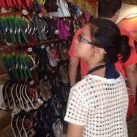 Photo taken at Havaianas by Candy M. on 3/29/2014