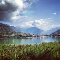 Photo taken at Lago di Annone by Diego R. on 8/30/2013