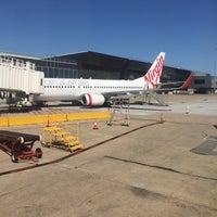 Photo taken at Virgin Australia Flight 1328 by Paris B. on 2/11/2016