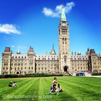Photo taken at Parliament Hill by flânerie f. on 6/4/2013