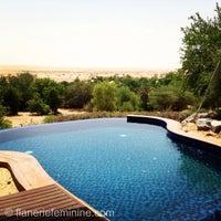 Photo taken at Al Maha Desert Resort & Spa by flânerie f. on 9/3/2013