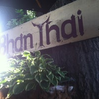 Photo taken at Bhan Thai by Jessica S. on 5/24/2013