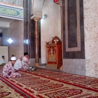 Photo taken at Masjid Besar Al Huda by Oim T. on 6/30/2013
