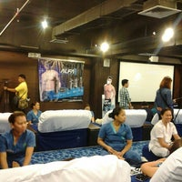 Photo taken at Blue Water Day Spa by Dianne S. on 2/10/2015