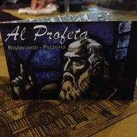 Photo taken at Pizzeria Al Profeta by David K. on 9/22/2013