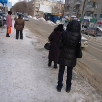 "Photo taken at Остановка ""ГУМ Россия"" by Павел Д. on 2/27/2013"