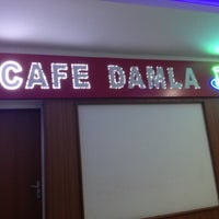 Photo taken at Cafe Damla by Sibel A. on 1/5/2015