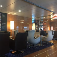 Photo taken at Stena Plus Lounge by Cagdas D. on 4/23/2018