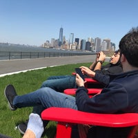 Photo taken at Picnic Point @ Governors Island by Seyma E. on 5/1/2018