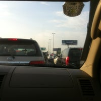 Photo taken at Prince Sultan & Al Batterjee Intersection by Basmah M. on 9/10/2013
