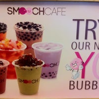 Photo taken at Smooch Unlimited Frozen Yogurt by Basmah M. on 9/2/2013