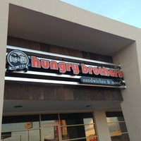 Photo taken at Hungry Brothers Sandwiches & More! by Adam G. on 7/28/2013