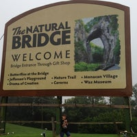 Photo taken at Natural Bridge (Virginia) by Susan on 7/22/2013