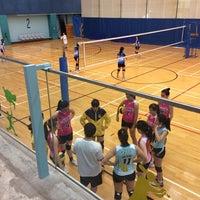 Photo taken at Tsing Yi Sports Centre 青衣體育館 by Leonardo Tiberius ⛵ on 3/1/2014