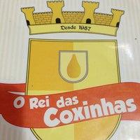 Photo taken at O Rei das Coxinhas by Ivson H. on 4/26/2013