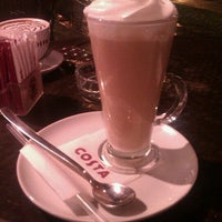 Photo taken at Costa Coffee by Bojana S. on 3/9/2013