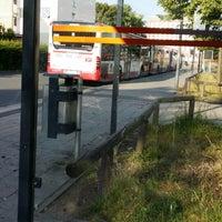 Photo taken at H Gustav-Adolf-Straße by Zulfija M. on 6/12/2014