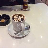 Photo taken at Pina Cafe by Kıvanç A. on 1/14/2014