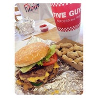 Photo taken at Five Guys by Gerard D. on 10/4/2012
