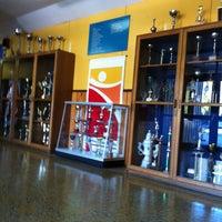 Photo taken at Deportivo Enap Refineria Bio Bio by Javier Z. on 2/21/2013