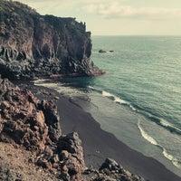 Photo taken at Playa de Charco Verde by Daneel O. on 3/15/2014