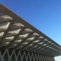 Photo taken at Marrakech Menara Airport (RAK) by Nicolas P. on 7/26/2013