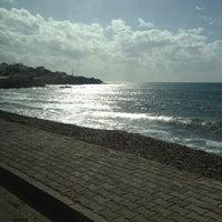 Photo taken at Mavi Bayrak Plajı by D@d@k on 2/3/2013