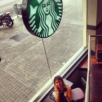 Photo taken at Starbucks by Anastasiya_23 on 7/18/2013