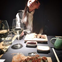 Photo taken at Mishima Sushi Bar by Anastasiya_23 on 11/19/2013