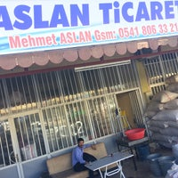 Photo taken at aslan ticaret by Ibrahim Ç. on 10/14/2017