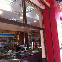Photo taken at Boatella Tapas by Sergio Zeus L. on 2/23/2013