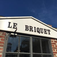 Photo taken at Le Briquet by Mathieu N. on 10/26/2015