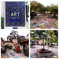 Photo taken at Spanish Village Art Center by Sy O. on 8/26/2013