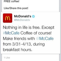 Photo taken at McDonald's by Sy O. on 4/13/2014