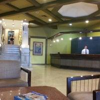 Photo taken at Master Premium Palace Hotel by Rodrigo S. on 2/5/2013