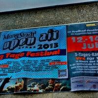 Photo taken at Klangstadt Open Air by Patrick N. on 6/30/2013